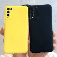 Funda trasera para teléfono Huawei Honor 10X Lite, carcasa fina mate de silicona suave para Honor 10X Lite Honor 10 X 10X Lite