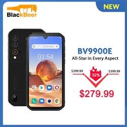 Blackview BV9900E IP68 прочный смартфон 6 ГБ + 128 Гб водонепроницаемый мобильный телефон 48MP камера Android 10 4G LTE мобильный телефон 4380 мАч NFC