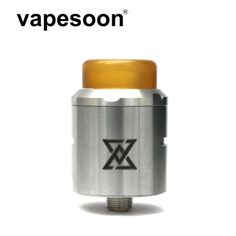 New Arrival Vapesoon Vape Gadge Vget  RDA Atomizer 810 Drip Tip 24mm Tank Adjustable Airflow Heat Wire For 510 Box Mod