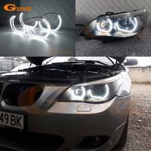 For BMW E60 E61 520i 525i 530i 540i 545i 550i M5 Pre LCI 2003 2007 Excellent DTM M4 Style Ultra bright led Angel Eyes halo rings