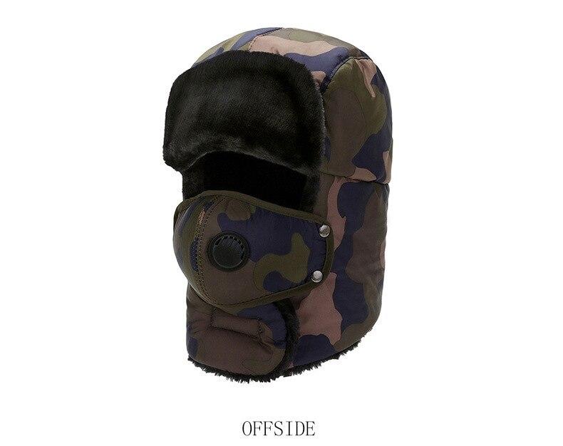 quente unisex ao ar livre chapéu cobertura completa proteção da orelha