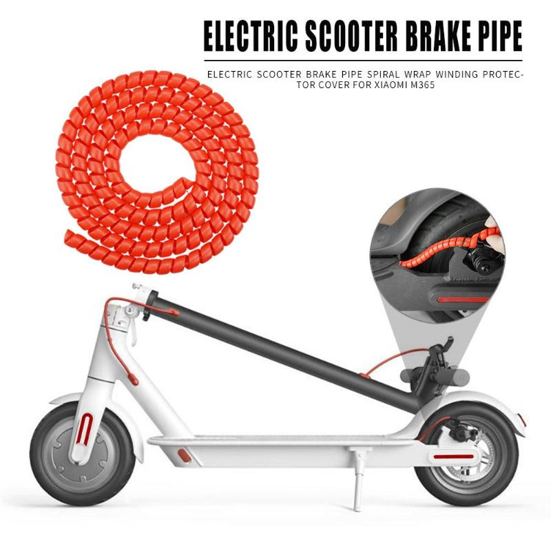 Scooter Line <font><b>Protector</b></font> for <font><b>Xiaomi</b></font> <font><b>Mijia</b></font> <font><b>M365</b></font> Electric Scooter Line Tube 1m Length Winding Tubes for <font><b>Xiaomi</b></font> <font><b>M365</b></font> Pro Accessories image