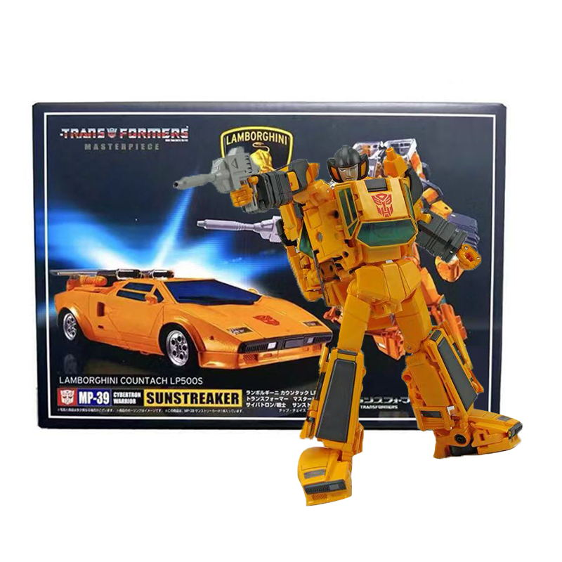 Transformers Masterpiece MP39 Sunstreaker Action Figure 18CM Toy New in Box
