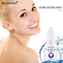Ibcccndc Teeth Whitening Serum Gel Essence Powder Oral Hygiene Cleaning Serum Removes Plaque Stains Tooth Bleaching Dental TSLM1