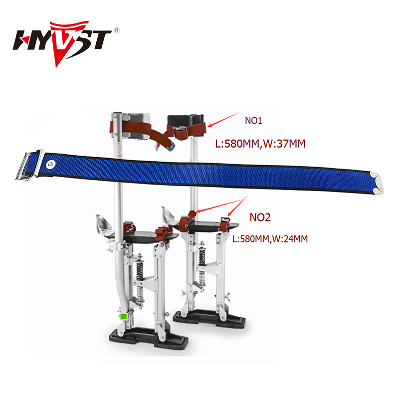 2pcs Drywall Stilts Accessory Leggings And Taping Two Type Adjustable Belt Painters Walking Fitting