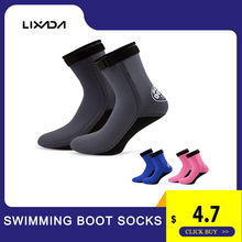 1 Pair 3Mm Swimming Boot Socks Water Shoes Beach Booties Scuba Wetsuit Neoprene Diving Socks Diving Surfing Boots For Men Women layatone wetsuit socks men 3mm neoprene diving socks black spearfshing beach canoeing kayaking snorkeling fishing socks boots