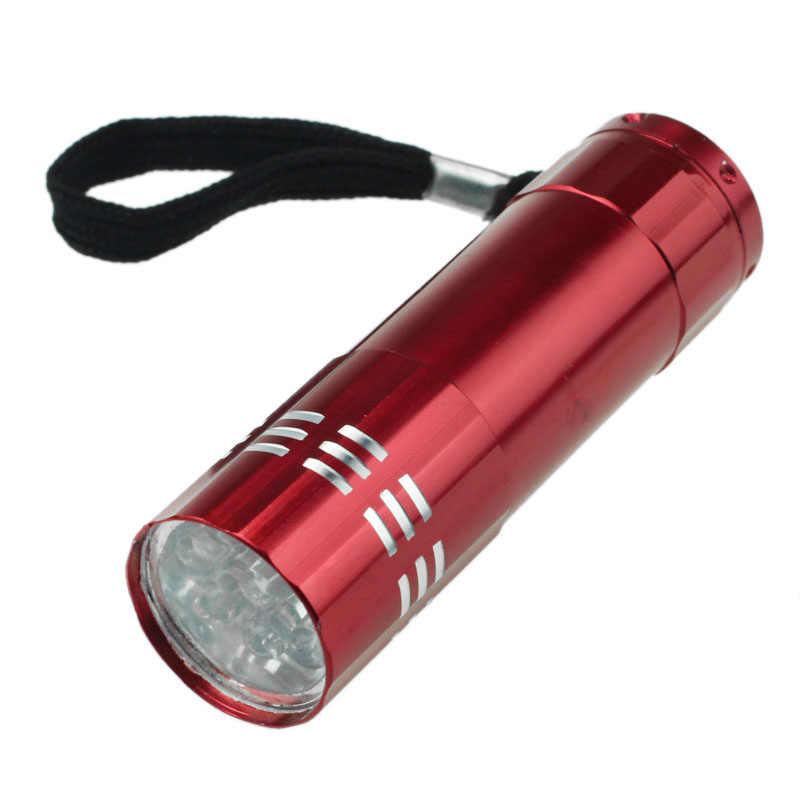 LED Mini El Feneri Alüminyum el feneri Küçük Anahtarlık Torch Lambası Su Geçirmez Flaş ışığı Gece Açık Spor