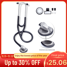 Medical Cardiology Stethoscope Doctor Medical Stethoscope Professional Single Head Stethoscope Doctor Medical Equipment Device