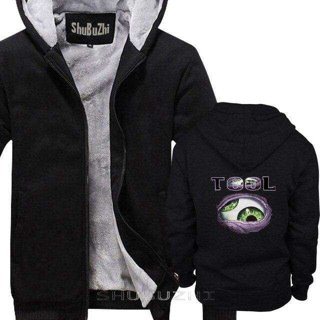 أداة 1 الفرقة الرجال سميكة سترة البلوز هوديي بلاك روك الرجال الأسود السترة الشتاء الخريف القطن hoodiesweatshirt sbz5401