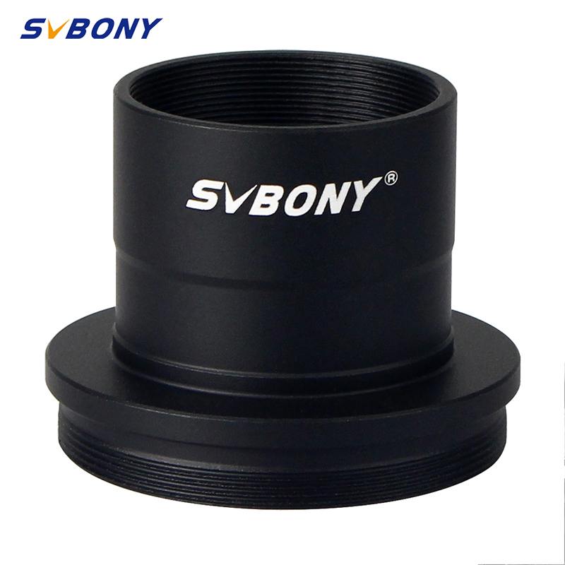 SVBONY Astronomical telescope accessories adapter ring photography adapter M42   0 75mm to 1 25 inch interface aluminum alloy