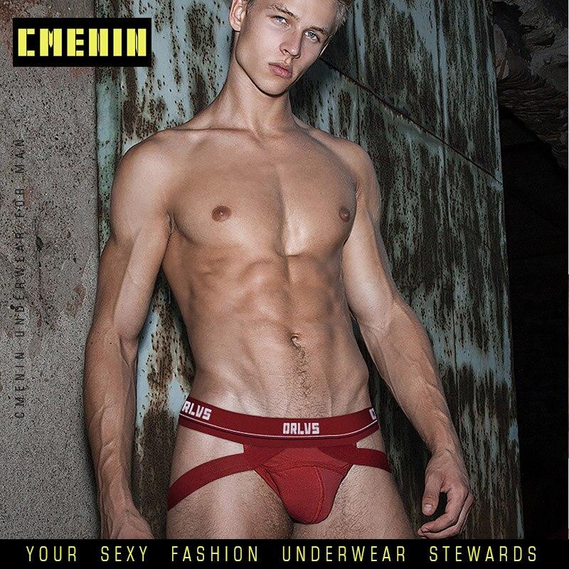 Sissy Panties Gay Underwear Men Jockstrap Thong Mens Briefs Cueca Male Panties Fashion Lingerie Men Underpants 2020 New OR405