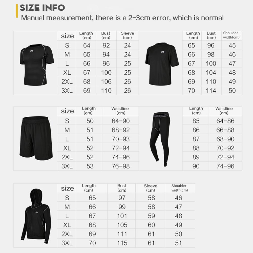 5 шт/компл мужской спортивный костюм для тренажерного зала фитнеса