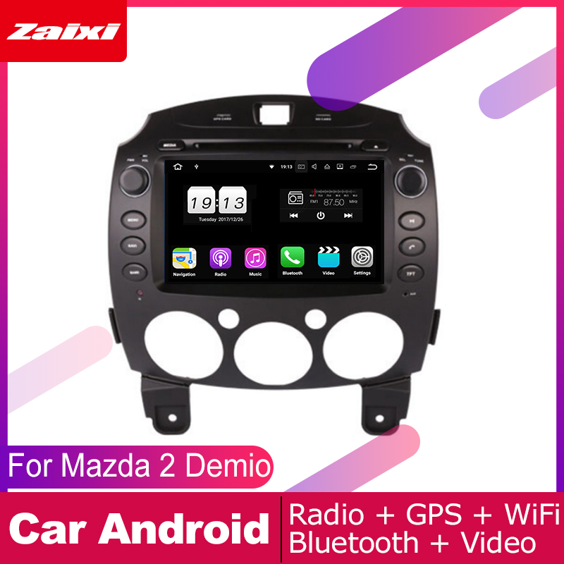 For <font><b>Mazda</b></font> <font><b>2</b></font> <font><b>Demio</b></font> 2007 2008 2009 2010 2011 2012 2013 2014 Car Android Multimedia System <font><b>2</b></font> DIN Auto DVD Player GPS Navigation image