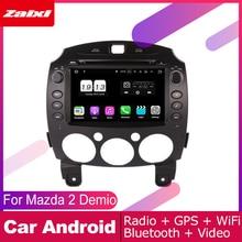 ZaiXi For Mazda 2 Demio 2007~2014 Car Android Multimedia System DIN Auto DVD Player GPS Navi Navigation Radio Audio WiFi