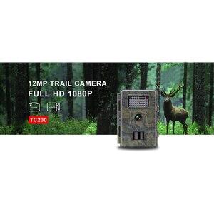 16MP 1080p HD охотничий троп Камера Быстрый триггер время 0.5s фото ловушки ночное видение Дикая камера тепловизор