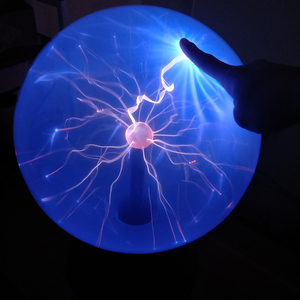 Image 4 - Artificial Lightning Ball Ion Ball Tesla Coil Glow Ball Arc Ball Touch Lightning Can Be Voice Controlled 12V