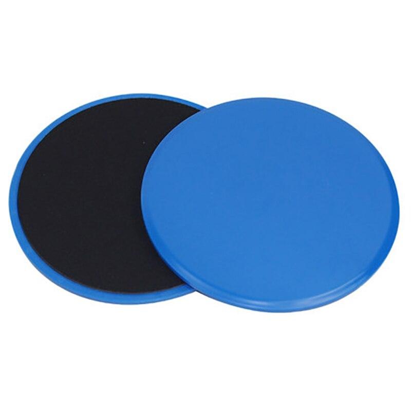 Скользящие диски Core Slider фитнес диск Упражнение скользящая пластина для йоги Тренажерный зал брюшной тренировки планеры тренировки ноги руки назад - Цвет: Черный