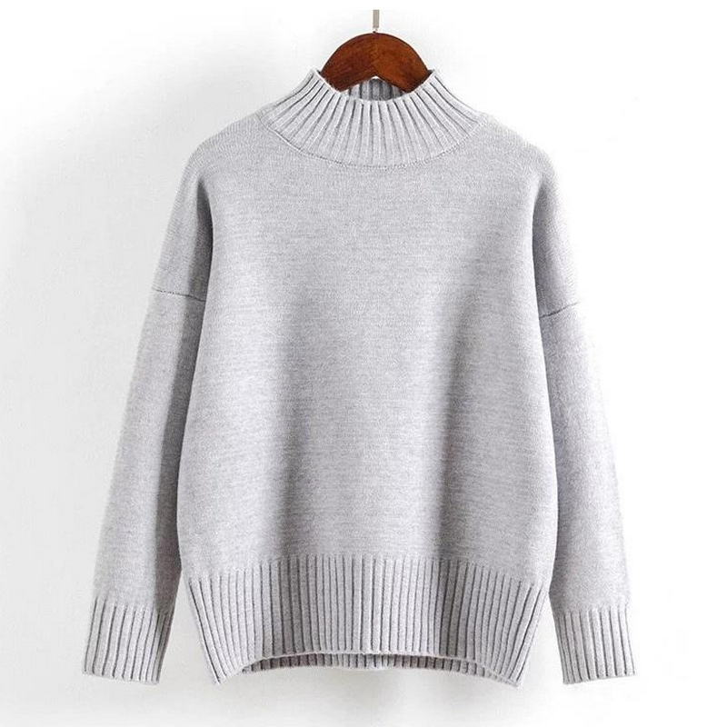 Cashmere Turtleneck Sweater Women 2021 Fashion Autumn Winter Pullover Jumper Pull Femme Hiver Streetwear Casual Knitted Sweater 4