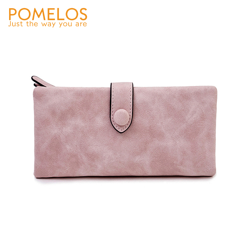 POMELOS 2020 New Women Long Soft Comfortable And Compact Wallet Excellent Quality PU Leather Practical Roomy Purse For Ladies