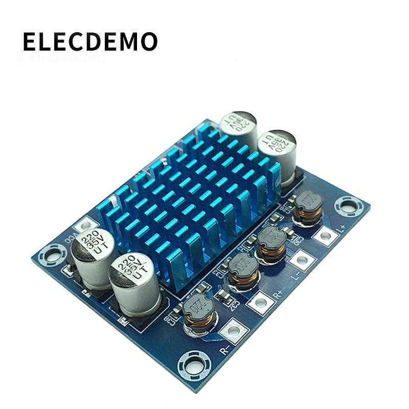 XH-A232 High-definition Digital Audio Power Amplifier Board Mp3 Amplification Module 12V24V Sound Reinforcement Board Dual Chann