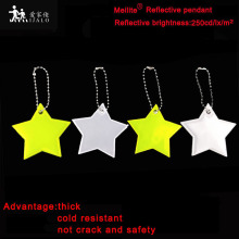 MEILITE 250 свечи огни звезда отражающий кулон Шарм сумка вешалка для аксессуаров брелок с отражателем для безопасности дорожного движения