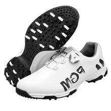 Sneakers Shoes Golf-Chaussure Sports-Trainers Spikes Waterproof PGM Men Breathable Zapato