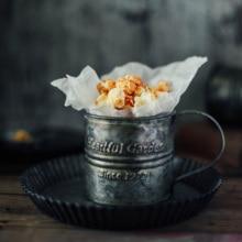 เหล็กถ้วยเหล็กถ้วยInsสไตล์Vintageเหล็กแผ่นชีวิตอาหารPropsถ่ายภาพ
