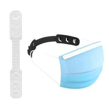 Silicone Ear Protector Bandage Mask Hook Ear Rope 3 Gear Adjustment Buckle Prevent Ear-pulling Mask Artifact Ear Shield Buckle