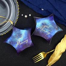 Star Shaped Favor Boxes กล่อง PARTY กล่องกระดาษกล่องกระดาษกล่องกระดาษแข็ง Candy Favors(China)