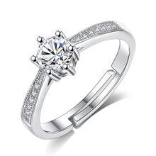 Modaone горячее модное обручальное кольцо с камнем из стерлингового