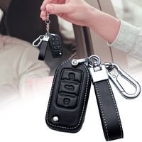 Leather Car Key Cover Case  6