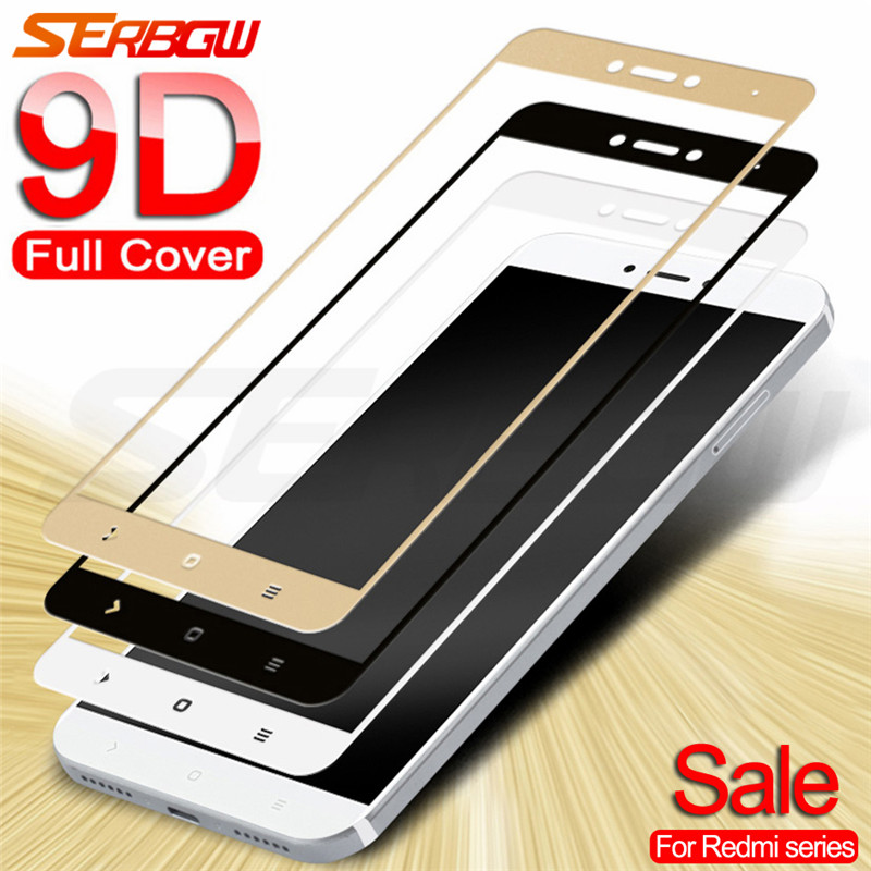 9D Tempered Glass on For Xiaomi Redmi Note 4 4X 5 5A Pro Screen Protector Safety Glass on the Redmi 4X 5A 5 Plus Go S2 Film Case(China)