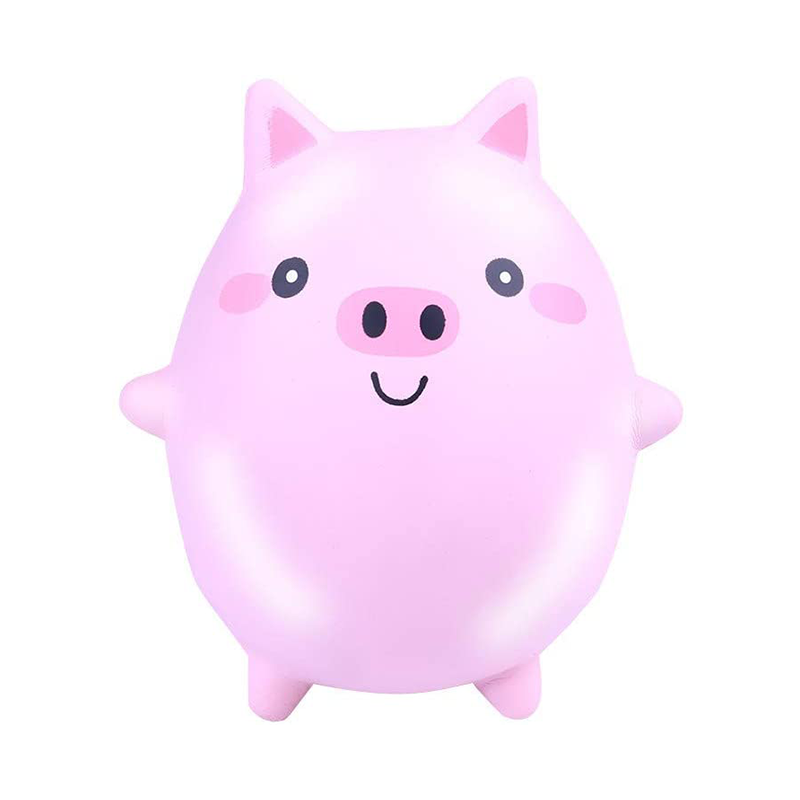 New Style Toy Soft Pig Squishy Kawaii Animal Slow Rising Squishy Toy Anti-strss Kids Educational Toys