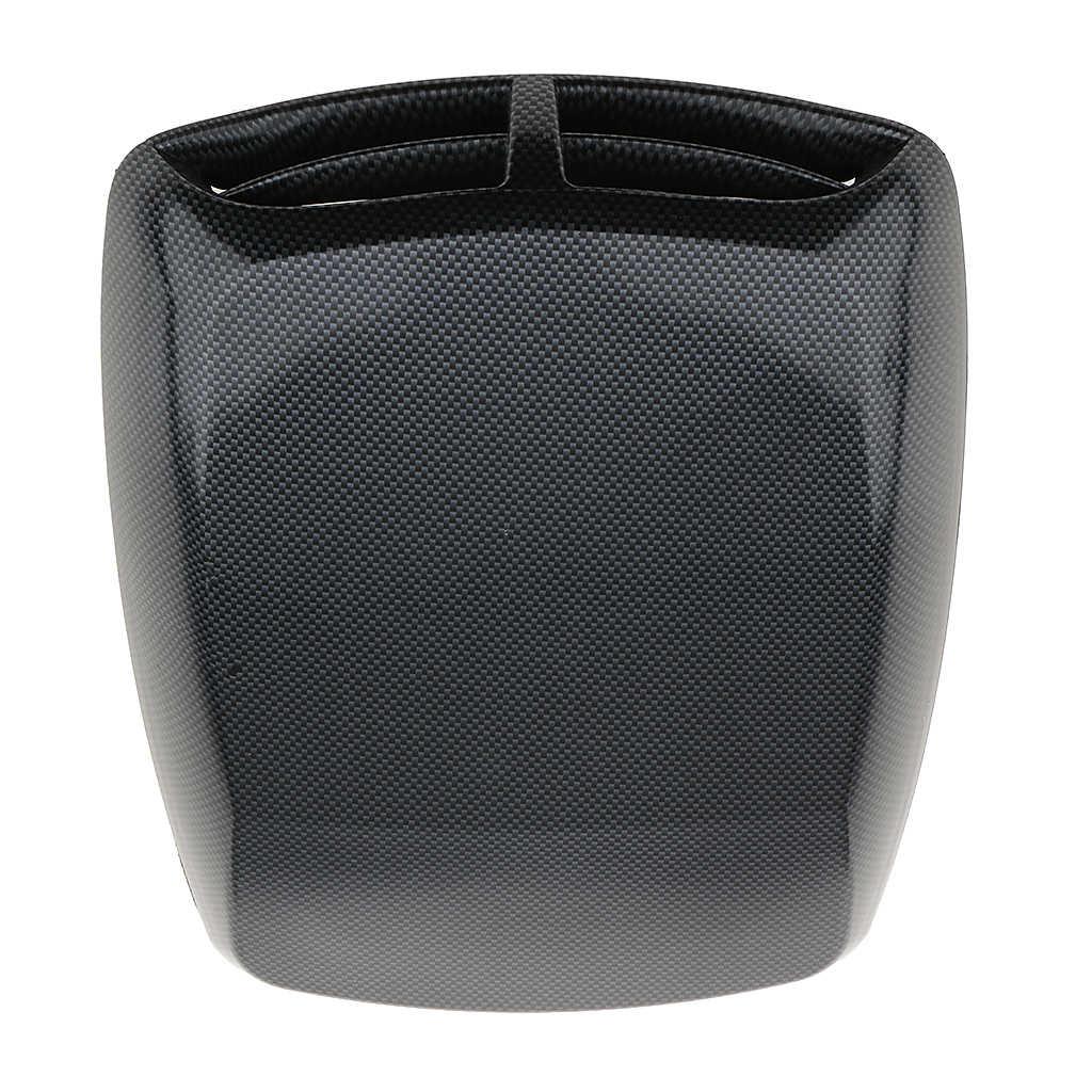 Universel voiture décorative débit d'air capot d'admission Scoop évent Turbo capot couverture capot ornement remplacement Fiber de carbone finition
