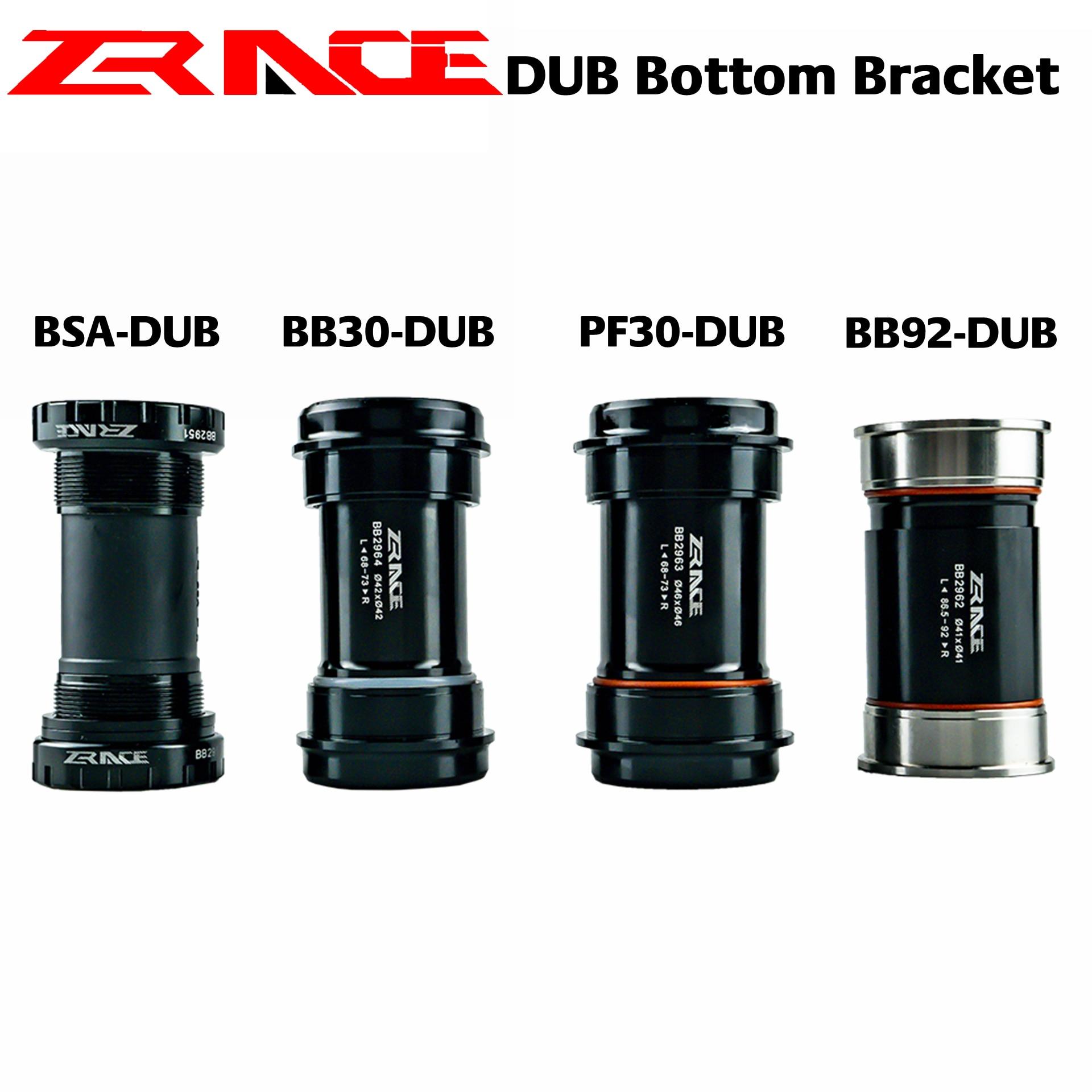 ZRACE DUB alt parantez, SRAM MTB/yol krank, DUB BSA, BB92, PF30, BB30 ile uyumlu geleneksel araçları BB29 yeni