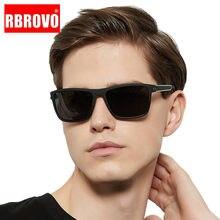 RBROVO – lunettes De Soleil polarisées rétro, carrées, Vintage, pour hommes/femmes, haute qualité