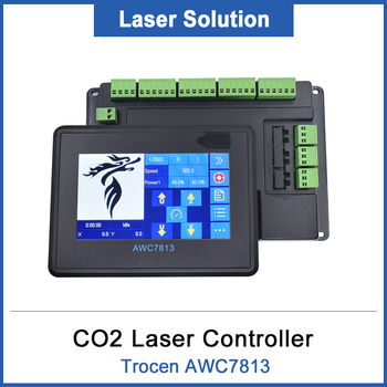 DRAGON DIAMOND Trocen AWC7813 Co2 Laser DSP Full Touch Screen Controller For Engraving and Cutting Machine