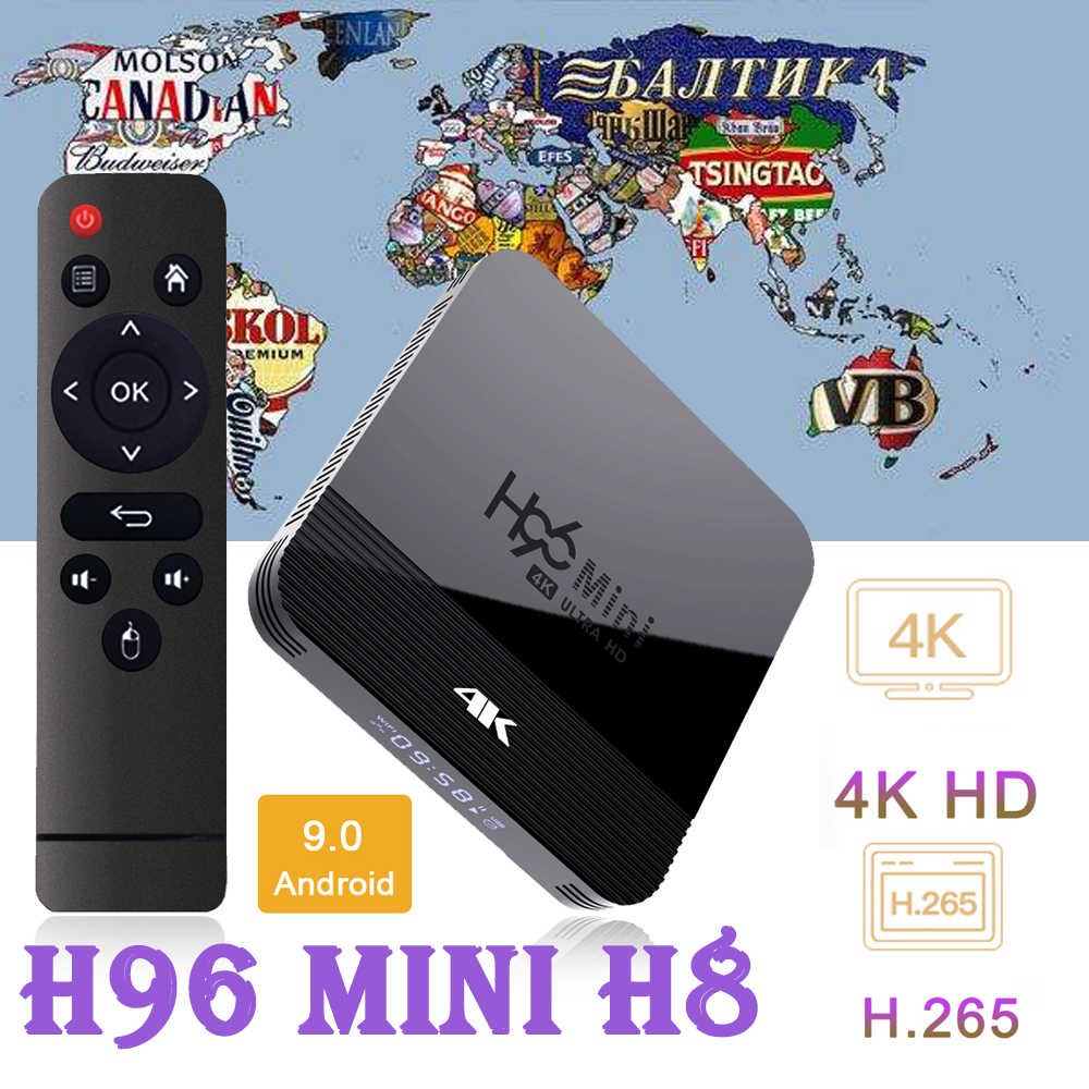Smart Tv Box Android Tv Iptv H96 Mini 3228A 2G 16G Android 10 Box Tv Android Box 2gb Bluetooth H96 Mini H8 Smart Tv Set Top Box