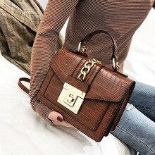Lnv 2021 High Quality Vintage Leather Shoulder Bag For Women Box Handbag Designer Brown Crossbody Messenger Bag Women