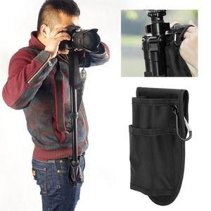 Image 2 - حامل ثلاثي محمول مقاوم للماء مع حلقة دعم DSLR ، حقيبة الخصر ، جيب ، حامل أحادي