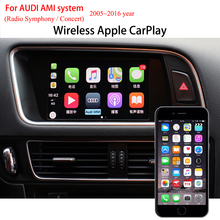 A4 A5 Q5 CarPlay Support Android Phone Mirrorlink Carlife iPhone AirPlay Car Play Retrofit