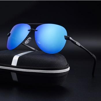Rimless Polarized Driving Sunglasses 3