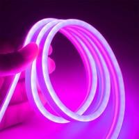 DC12V SMD2835 Neon Lichter Flexible LED Auto lampe Nähen Rohr 1m-5m Neon LED Streifen 12V rand Streifen Wasserdicht Seil Rohr Silikon