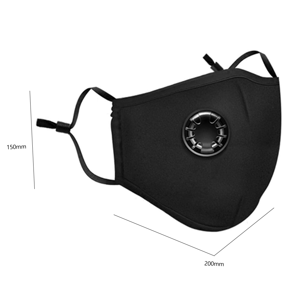 Valve Anti-dust PM2.5 Filter Motorcycle Mask Washable Mouth Mask Protection Respirator Face Mouth Cover