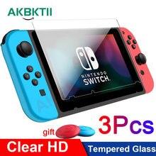 3Pcs ป้องกันสำหรับ Nintendo Switch สำหรับ Nintendos สวิทช์ Lite อุปกรณ์เสริมฟิล์มหน้าจอ