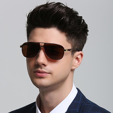 Fashion Polarized Sunglasses Europe and America Mens Trend Aluminum Magnesium Alloy Glasses