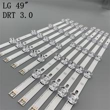 Nouveau 10 pièces/ensemble LED retour lg avec bande de remplacement pour LG 49LB5500 LC490DUE Innotek DRT 3.0 49 A B 6916L 1788A 1789A 1944A 1945A