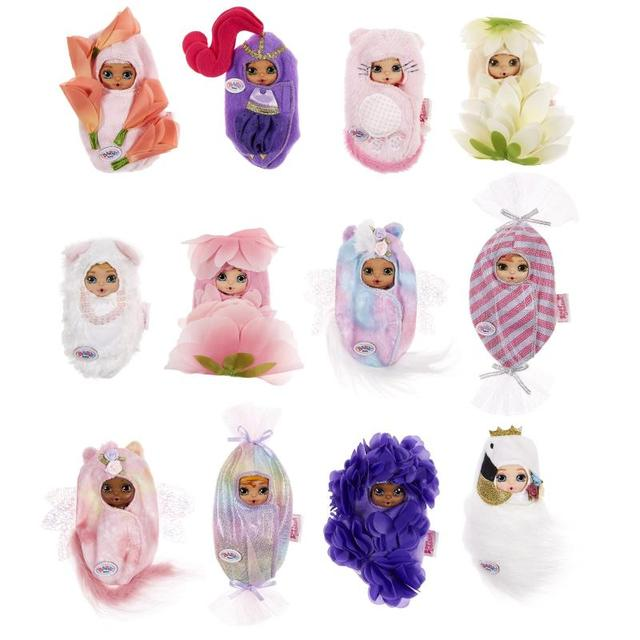 Baby Born Surprise Blooming Babies with 10 Surprises and Color Change Surprises Series Toys Birthday Children Gift 6