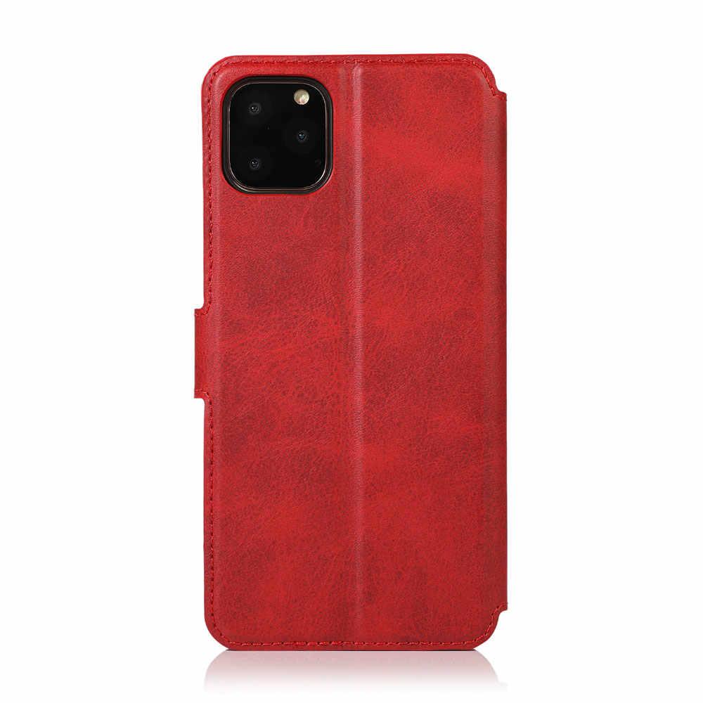 Kisscase Bao Da Ví Da Lộn Ốp Lưng Điện Thoại Samsung S8 S9 Note 9 10 Plus Khe Cắm Thẻ Cho Samsung s8 S9 S10 Plus Etui