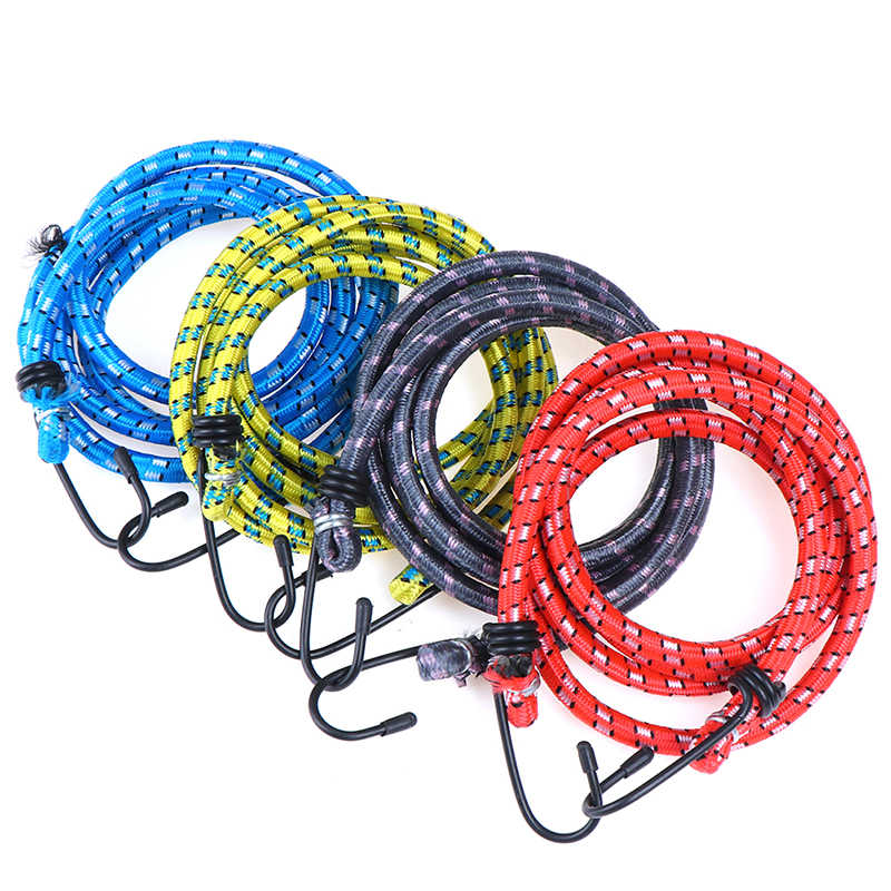 Heavy Duty Bungee Cord Bicycle Motorcycle Bungee Elastic Cord Luggage Strap